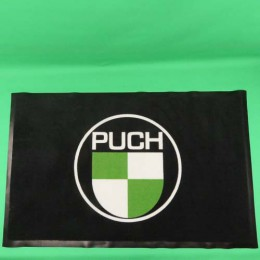 Doormat with PUCH logo