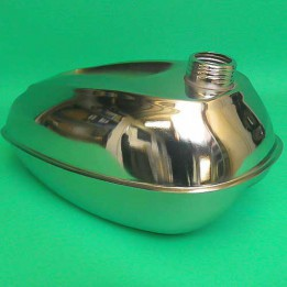 Fuel tank chrome Puch